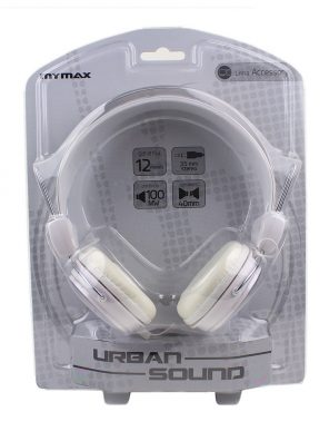 006845_3 Fone de Ouvido Estéreo Urban Sound - Branco MHP-HT373-WH