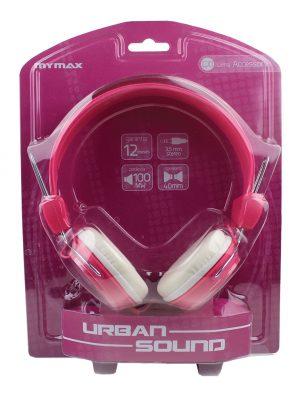 006894_3 Fone de Ouvido Estéreo Urban Sound - Rosa MHP-HT373-PKWH