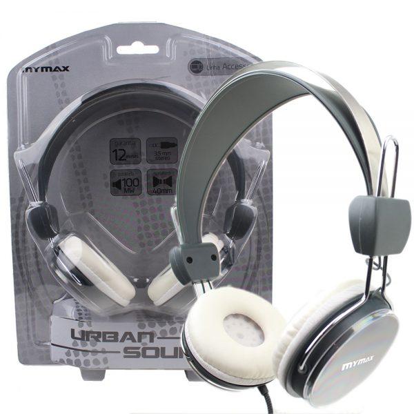 006895_2 Fone de Ouvido Estéreo Urban Sound - Cinza MHP-HT373-GRWH