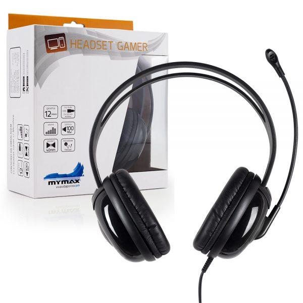 007503_2 Headset Gamer P2 2.4M Nylon - Preto - PHN-HT8000/BK