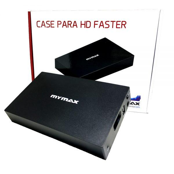 "007566_2 Case HD Externo 3.5"" Faster USB 3.0 - Preto MENC-X3521-BK"