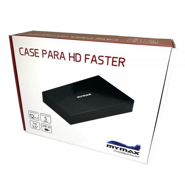 "007566_3 Case HD Externo 3.5"" Faster USB 3.0 - Preto MENC-X3521-BK"