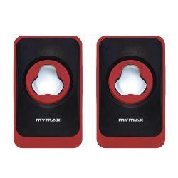 008862 - Caixa de Som USB 6W RMS - Preto Vermelho - SPK-SP120/RD