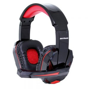 008646_1 Headphone Ultimate Gamer USB 2.25M Nylon - Preto/Vermelho - MHP-SP-X9/BKRD