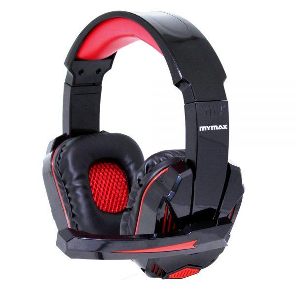 008646_1 Headphone Ultimate Gamer USB 2.25M Nylon - Preto/Vermelho - MHP-SP-X9/BKRD