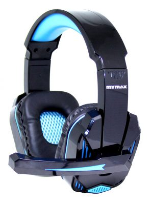 008647_1 Headphone Ultimate Gamer USB 2.25M Nylon - Preto/Azul - MHP-SP-X9/BKBL