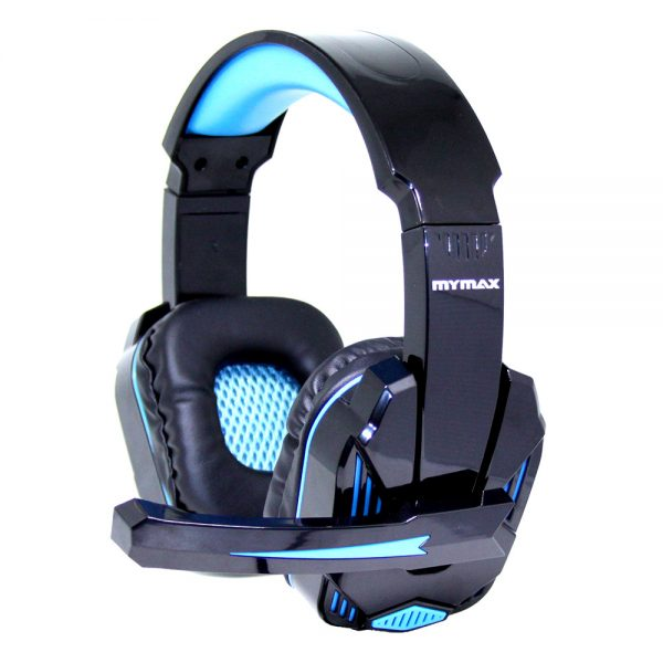 008647_1 Headphone Ultimate Gamer USB 2.25M Nylon - Preto/Azul - MHP-SP-X9/BKBL