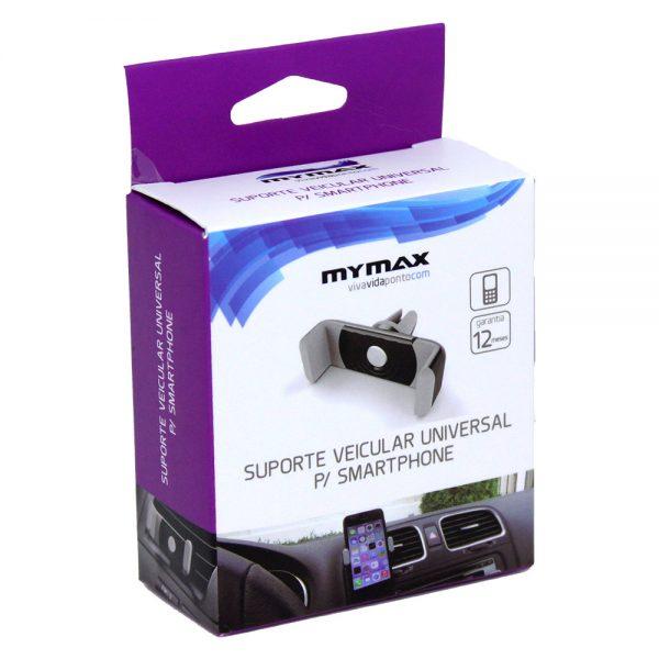 008656_3 - Suporte Veicular Universal para Smartphone - Preto - MACT-CH/BK