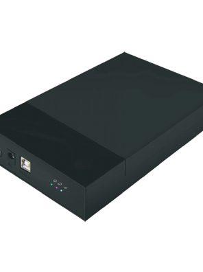 "008688_1 - Case HD Externo 3.5"" USB 2.0 - Preto - MENC-35TU2 BK"
