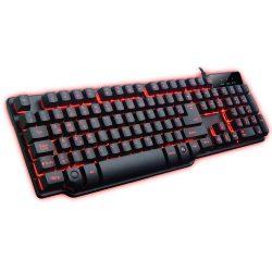 008740_1 Teclado Gamer Semi Mecânico Hydra USB Preto/Vermelho MGK-K8/RD