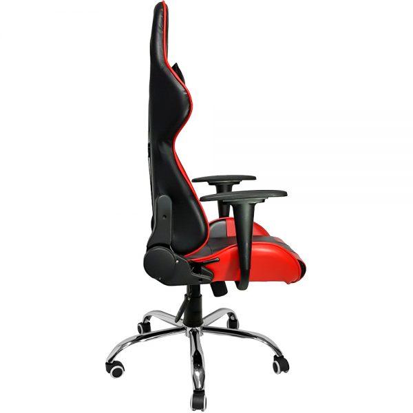 Cadeira Gamer MX7 Giratoria Preto e Vermelho