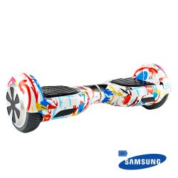 "008816 1 - HOVERBOARD SCOOTER BALANCE 6,5"" BAT SAMSUNG - COLORFUL - MFYF-N05/CO"