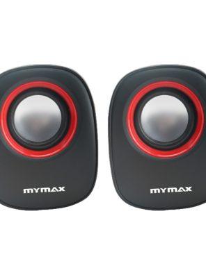 Caixa de Som USB 6W RMS - Preto Vermelho - SPK-SP205/RD
