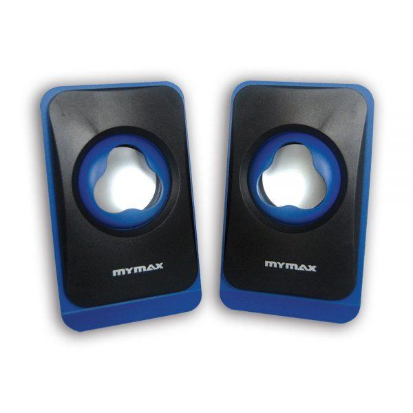 008860 Caixa de Som USB 6W RMS - Preto Azul - SPK-SP120/BL