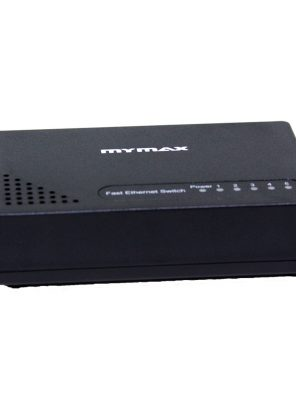 005613_1 Switch 5 Portas 10/100Mbps - Preto MSWI/S1005D