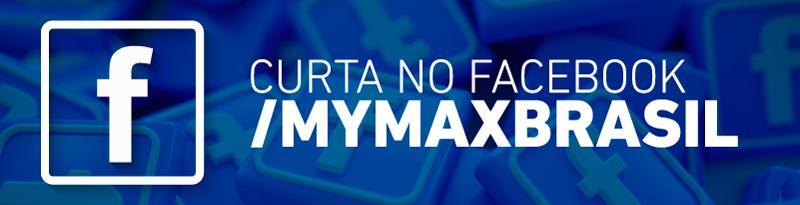 Banner - Curta Mymax Brasil no Facebook