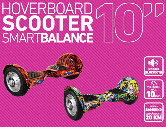 Scooter Hoverboard Smart Balance 10 Polegadas Bateria Samsung