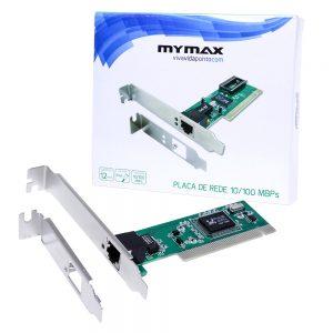 006846_2 Placa de Rede 10/100Mbps PCI Chipset Realtek MLAN-JEN