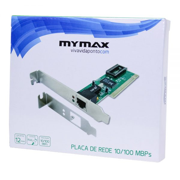 006846_4 Placa de Rede 10/100Mbps PCI Chipset Realtek MLAN-JEN