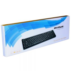 006969_1 Teclado Multimídia Slim Chocolate USB ABNT II - Preto MKM-MKB699/USB