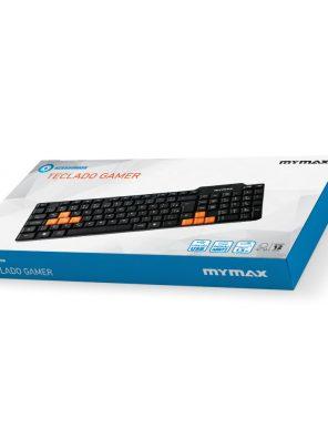 007710_3 Teclado Gamer Standard USB ABNT II - Preto KEY-3104/USB