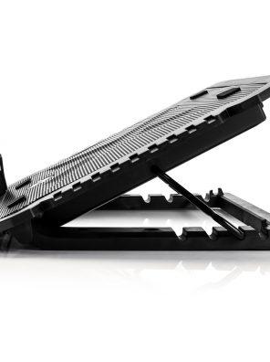 007800_2 MYC/LX-788-NB Base para Notebook Asgard X 17 Polegadas - Fan 15cm - 5 Níveis - Preto