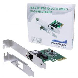 008136_2 Placa de Rede 10/100/1000Mbps PCI Express Gigabit MGLANE-JEN