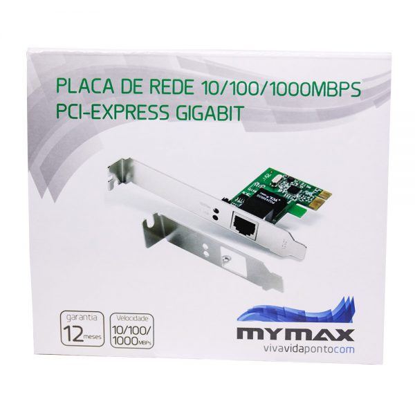 008136_4 Placa de Rede 10/100/1000Mbps PCI Express Gigabit MGLANE-JEN