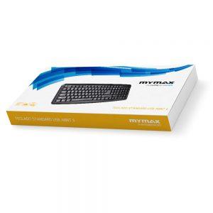 008201_3 Teclado Standard USB ABNT II - Preto MKS-VSC170/USB