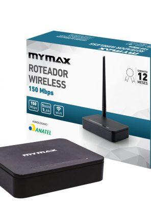 008859_2 Roteador Wireless 150 Mbps - 1 Antena Externa MWR-U31-BK-V1