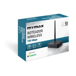 008859_3 Roteador Wireless 150 Mbps - 1 Antena Externa MWR-U31-BK-V1