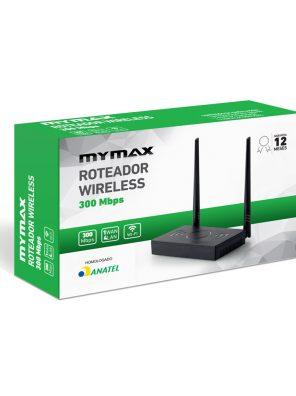 008859_4 Roteador Wireless 300 Mbps - 2 Antenas Externa MWR-WR936IA-BK
