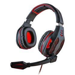 008917_1 - Headset Gamer 5.1 Centauro - MHP-SP-X13/BKRD - Preto/Vermelho