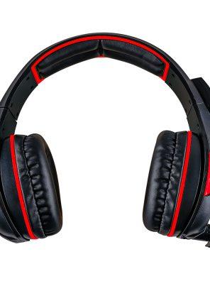 008917_2 - Headset Gamer 5.1 Centauro - MHP-SP-X13/BKRD - Preto/Vermelho