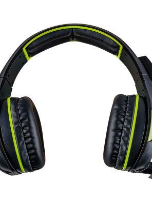 008918_2 - Headset Gamer 5.1 Centauro - MHP-SP-X13/BKGR - Preto/Verde