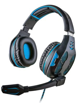 008919_1 - Headset Gamer 5.1 Centauro - MHP-SP-X13/BKBL - Preto/Azul