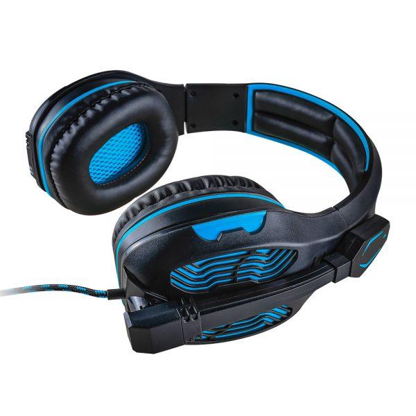 008919_4 - Headset Gamer 5.1 Centauro - MHP-SP-X13/BKBL - Preto/Azul