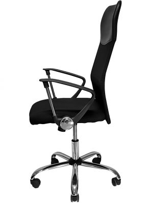 Cadeira Presidente Giratoria Preta - Mymax