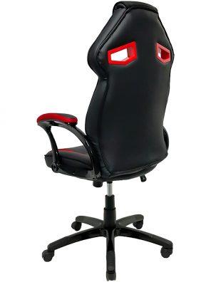 Cadeira Gamer MX1 Giratoria Preto e Vermelho