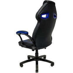Cadeira Gamer MX1 Giratoria Preto e Azul