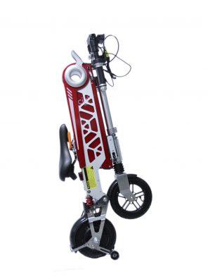 E-Bike Bicicleta Eletrica 250W Modelo Ciclo Vermelha