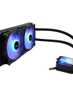 Water Cooler Algor 240mm AMD e Intel LED Azul