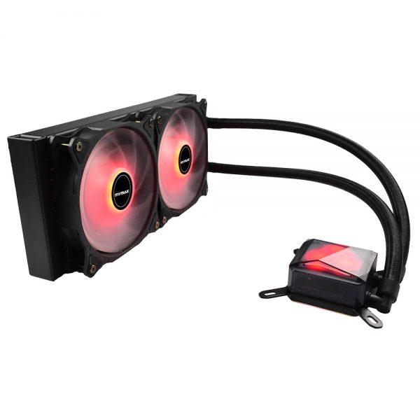 009076_1 Water Cooler Algor 240mm AMD e Intel LED Vermelho