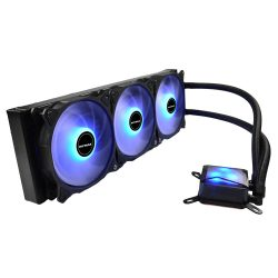 Water Cooler Algor 360mm AMD e Intel LED Azul