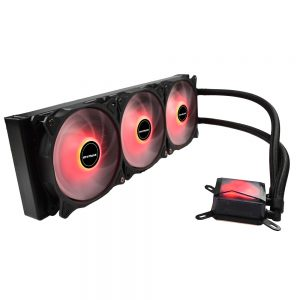 Water Cooler Algor 360mm AMD e Intel LED Vermelho