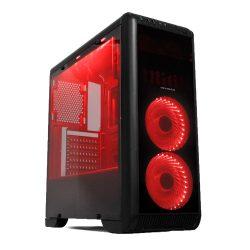 Gabinete Gamer Tornado USB 3.0 Black LED Vermelho MCA-FC-T07A/BK-RD