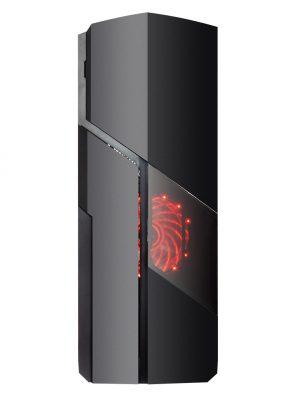 Gabinete Gamer Galaxy USB 3.0 - Preto Fan LED Vermelho