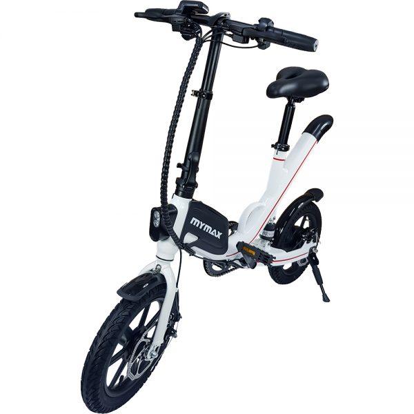 E-Bike Way Aro 14 com Pedal Aut. ate 35km Branco