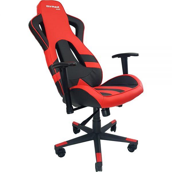 Cadeira Gamer MX11 Giratoria Preto e Vermelho MGCH-MX11/RD