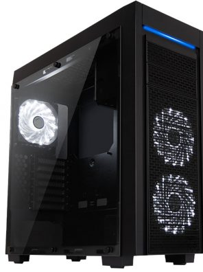 Montado Gabinete Gamer Full Tower Horus Mymax
